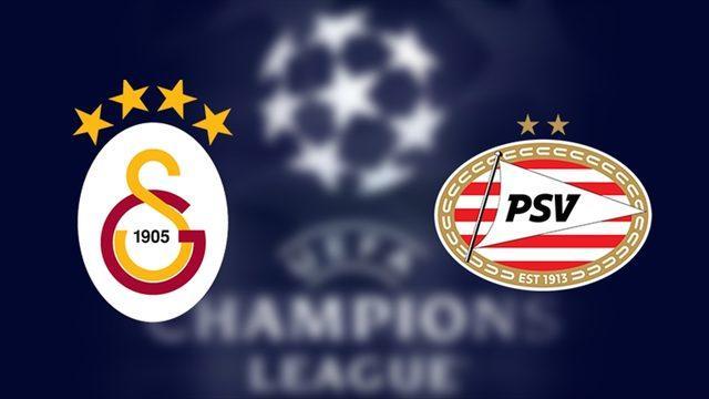 Galatasaray PSV maçı saat kaçta, hangi kanalda?