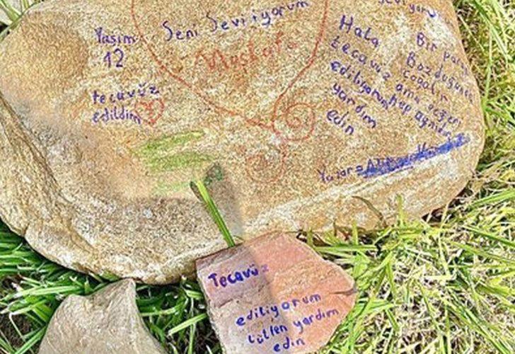 Aile ve Sosyal Hizmetler Bakanlığı'ndan taşa not bırakan çocuğa ilişkin açıklama