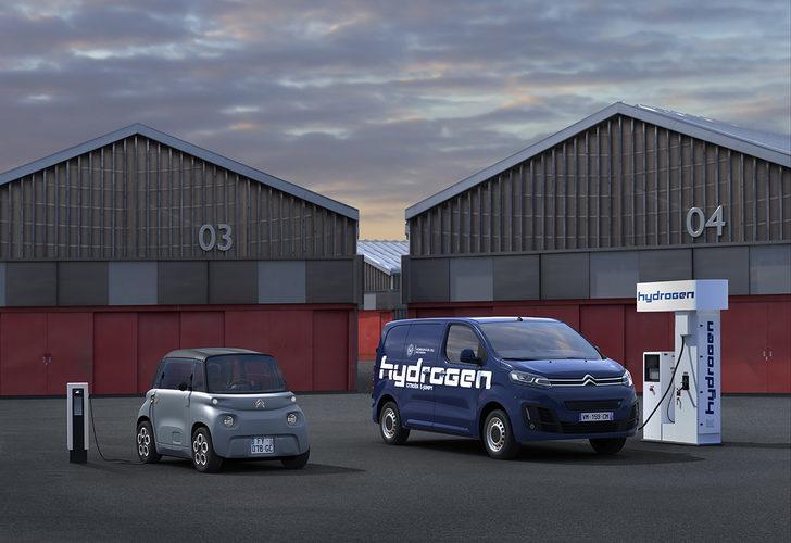 """Citroen, bataryalı ve hidrojen yakıt hücreli """"e-Jumpy Hydrogen""""i satışa sunacak"""