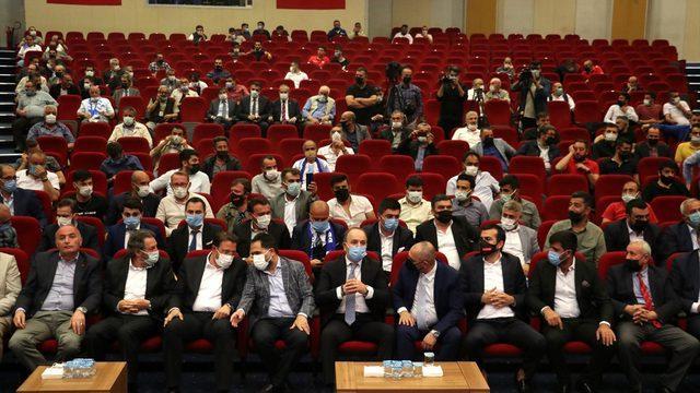 Büyükşehir Belediye Erzurumspor başkanlığına Ömer Düzgün yeniden seçildi: