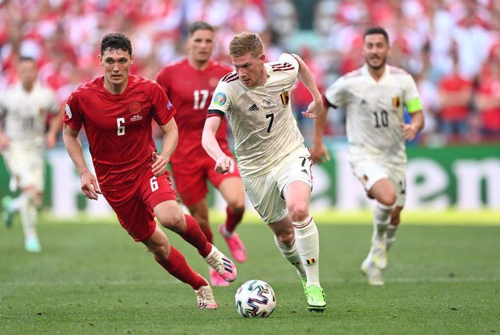 MAÇ SONUCU   Danimarka 1-2 Belçika