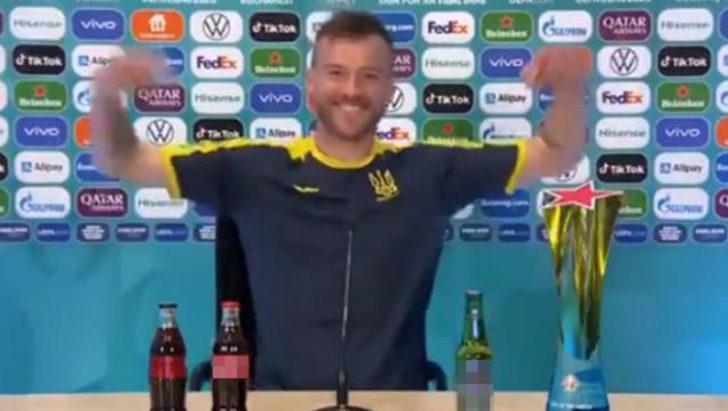 Yarmolenko Ronaldo'yu tiye aldı