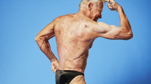 Dünyanın en yaşlı vücut geliştiricisi seçildi