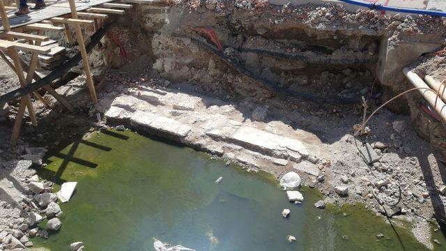 300 yıllık bedesten bulundu! İzine daha önce rastlanmamıştı