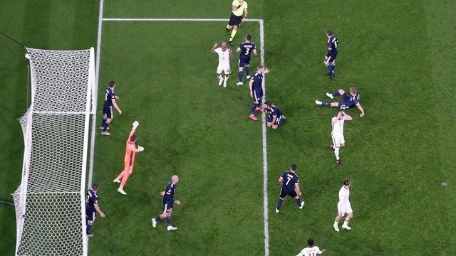 İngiltere- İskoçya maçında gol sesi çıkmadı
