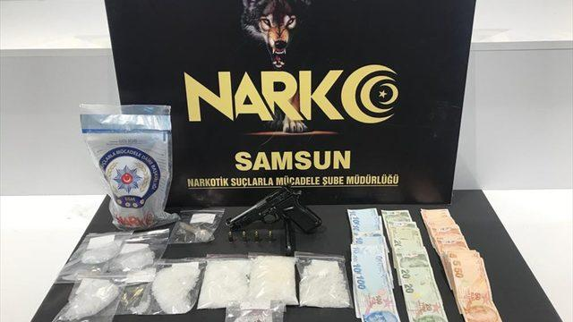 Samsun'da uyuşturucu operasyonunda yakalanan şüpheli tutuklandı