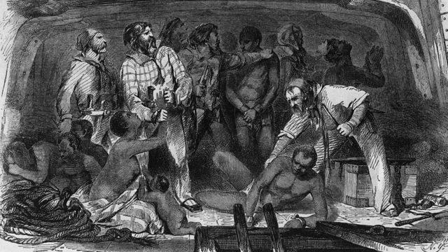 ABD'de köle ticareti 200 yıldan fazla sürdü