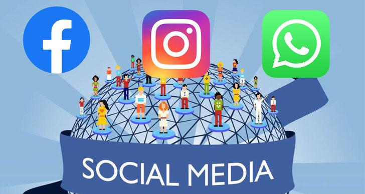 Whatsapp, İnstagram ve Facebook çöktü mü? Whatsapp'ta erişim sorunu yaşanıyor!
