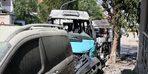 İzmir'de 2 yolcu minibüsünün çarpışması sonucu 6 kişi yaralandı