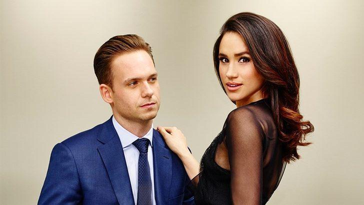 Meghan Markle'ın Suits dizisinden rol arkadaşı Düşes'le dalga geçti