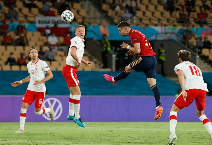 ÖZET   İspanya - Polonya maç sonucu: 1-1