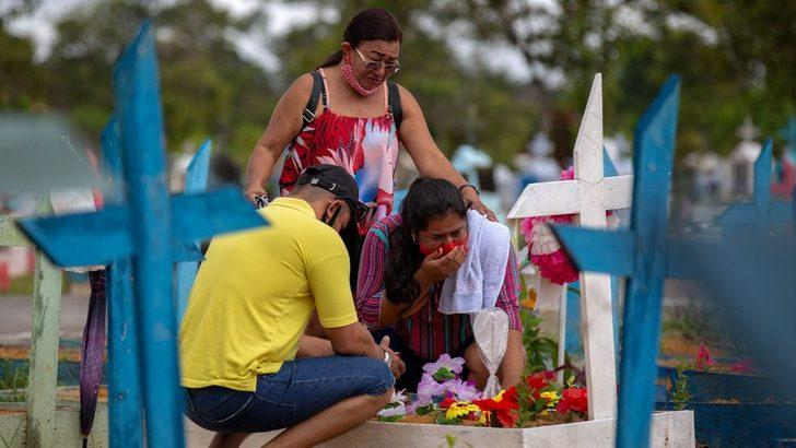 Brezilya'da Covid-19 kaynaklı ölümler 500 bini aştı