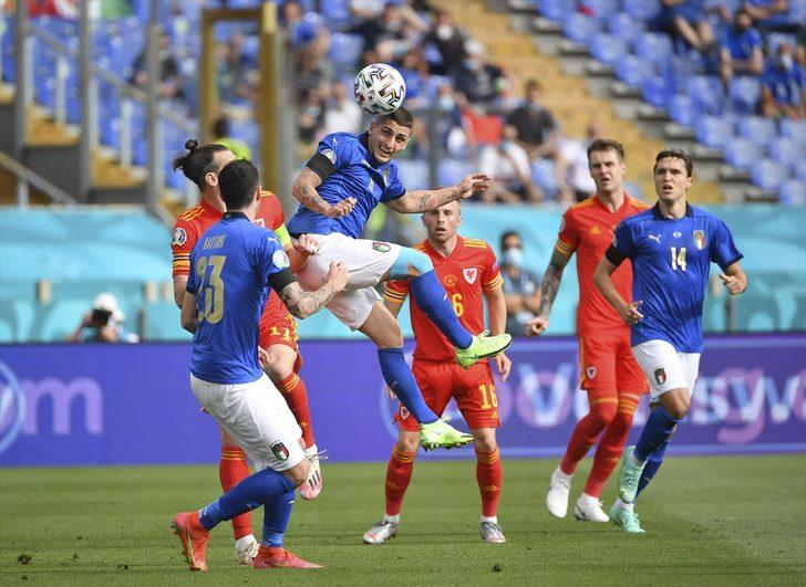 MAÇ SONUCU   İtalya 1-0 Galler