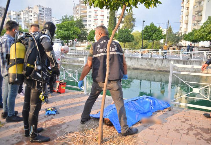 Adana'da korkunç olay! Sulama kanalına atlayan genç boğuldu