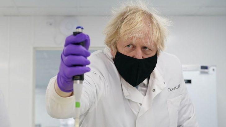 Boris Johnson, İngiltere'yi 'bilim süper gücü' yapmayı planladığını açıkladı