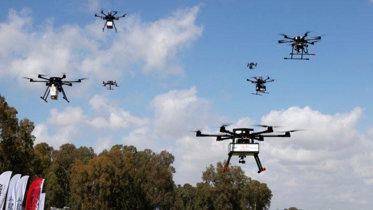 İsrail Drone'ları Havada Vuracak Lazer Silahı Geliştiriyor
