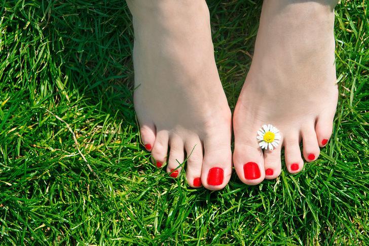 Kemik çıkması bulunan ayakları rahatlatma yöntemleri