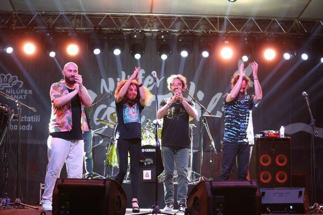 Bursa'da Nilüfer Caz Tatili Festivali başladı