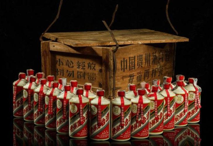47 yıllık 'Ateş' likörü 12 milyon 157 bin TL'ye satıldı