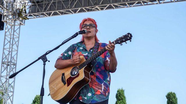 Müzisyen Kalben, 19 Haziran'da İstanbul Sözleşmesi ile ilgili eylemde sahne almıştı.