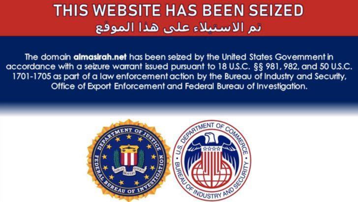 """""""İran'a Bağlı İnternet Sitelerine ABD El Koydu'' İddiası"""