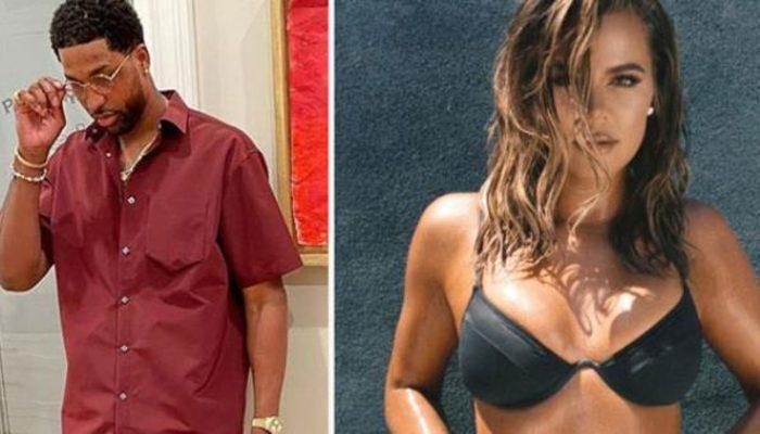 Partide üçlü ilişkiye giren Tristan Thompson'ı sevgilisi Khloe Kardashian affetmedi