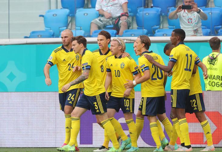 İsveç 90+3'te Polonya'yı yıktı ve lider oldu