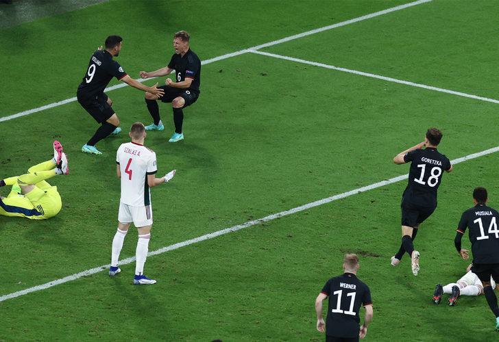 EURO 2020 Almanya 2-2 Macaristan (Maç sonucu)
