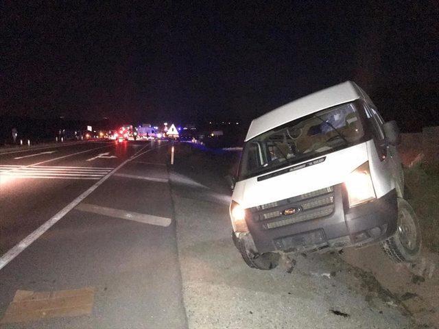 Sivas'ta trafik kazası: 1 ölü