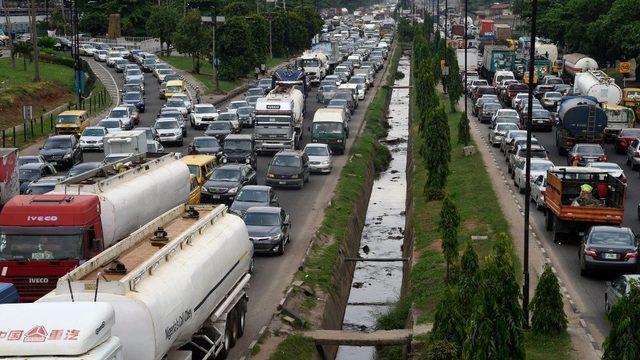 nijerya'da trafik