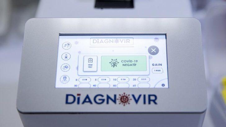 Diagnovir nedir? Diagnovir sistemi nasıl çalışıyor? 10 saniyede koronavirüs testi!