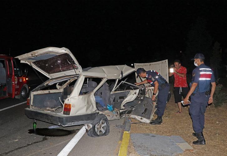 Fethiye'de feci kaza: 3 ölü, 5 yaralı