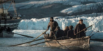 Donmuş denizlerde çekimleri tamamlandı