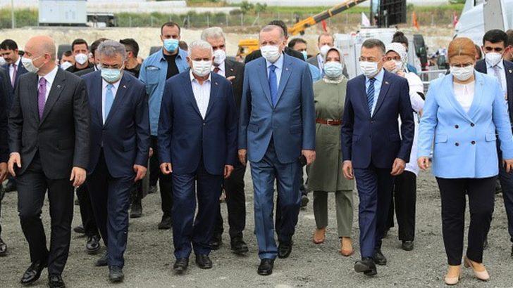 Erdoğan: Kanal İstanbul'a İstanbul'un geleceğini kurtarma projesi olarak bakıyoruz