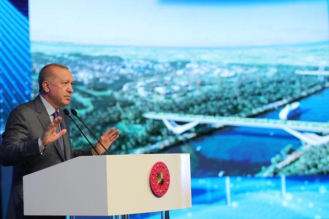 Cumhurbaşkanı Erdoğan, Kanal İstanbul'un maliyetini açıkladı