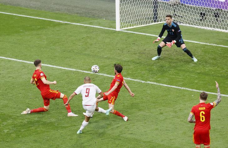 MAÇ SONUCU | Galler 0-4 Danimarka