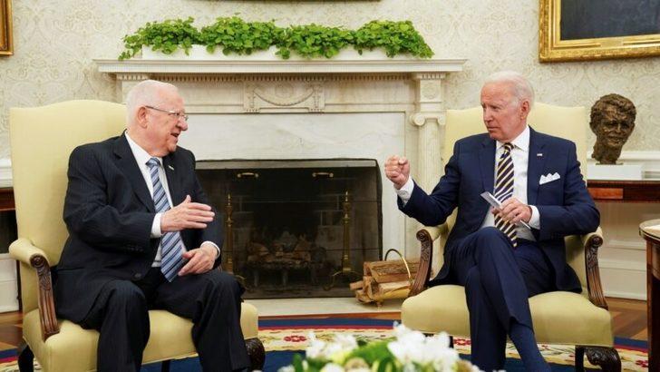 Biden Beyaz Saray'da İsrail Cumhurbaşkanını Ağırladı
