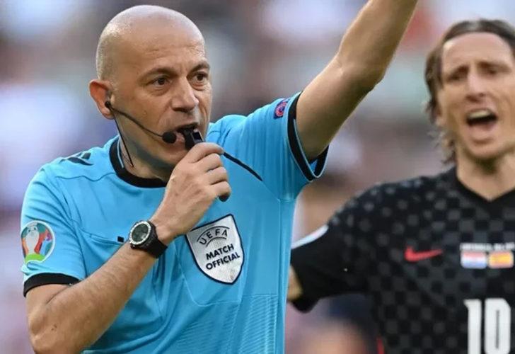 Cüneyt Çakır'ın yönettiği maçta inanılmaz hatalar! Hırvatistan-İspanya maçı tarihe geçti