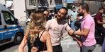 Bursa'da kadına bıçaklı şiddeti muhabirler önledi