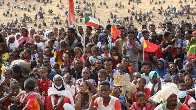 Tighray'dan Sudan'a kaçan mülteciler