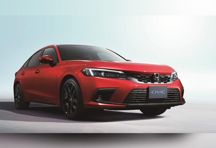 Honda Civic HB Hibrit olarak gelecek