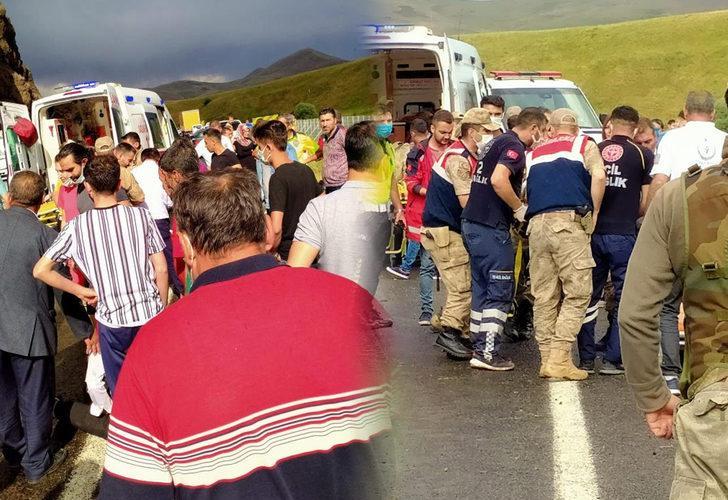 Öğretmenlerin de içinde bulunduğu midibüs kaza yaptı! 27 yaralı