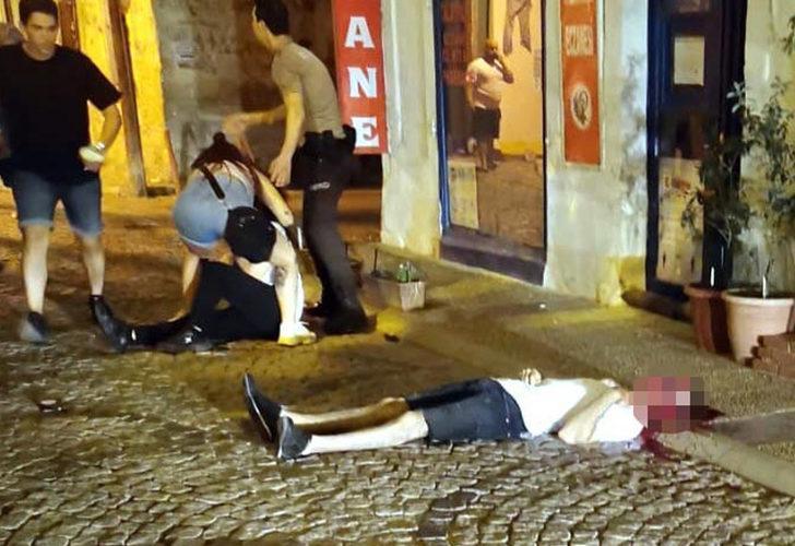 Sokak ortasında vahşet! Demir profille öldürüldü