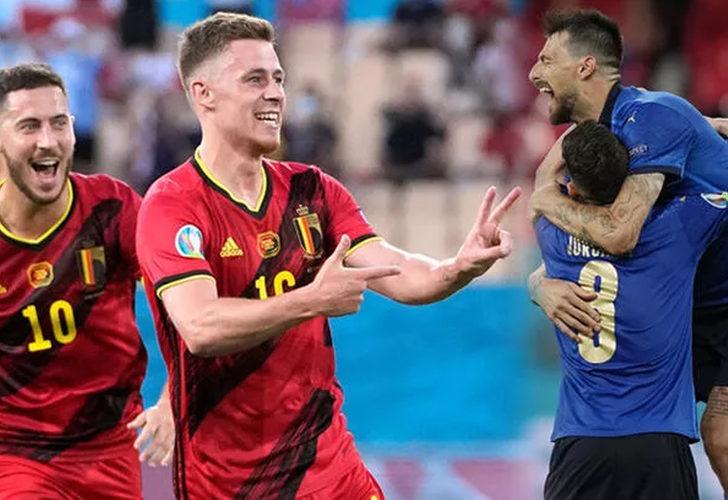 Belçika - İtalya maçının ilk 11'leri belli oldu