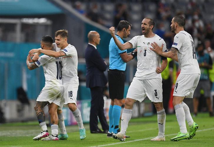 İtalya Belçika'yı yenerek yarı finale yükseldi
