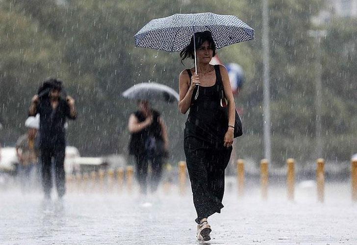 Son Dakika: Meteoroloji'den birçok il için kuvvetli yağış uyarısı