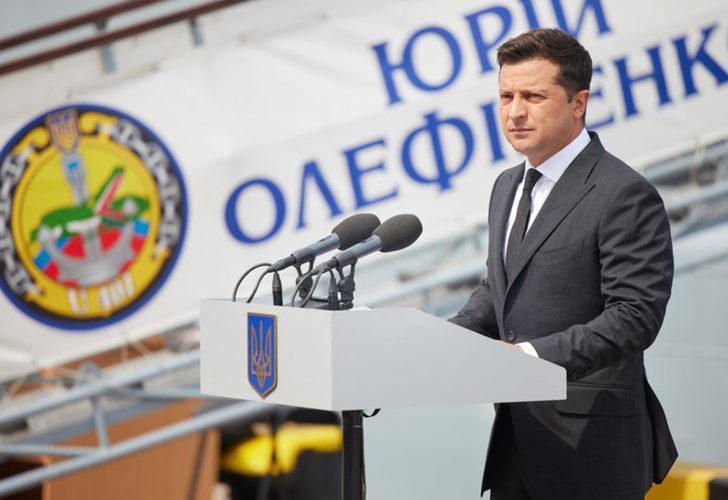 Ukrayna Devlet Başkanı Zelenskiy duyurdu: Türkiye'de üretimine başlandı