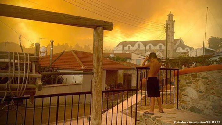 Kıbrıs'ta ölümcül orman yangını