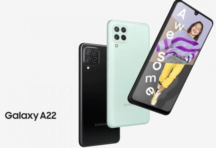 Samsung Galaxy A22'nin 4G varyantı ortaya çıktı