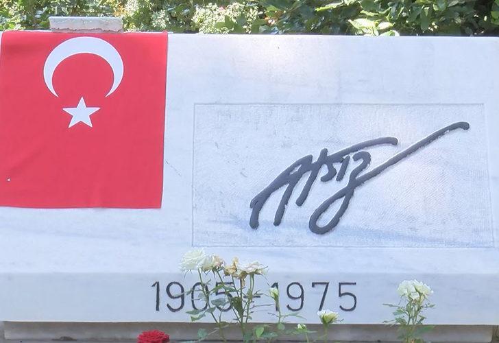Nihal Atsız'ın mezarına çirkin saldırı